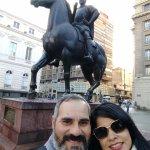Free Walking Tour of Santiago Foto