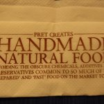 Napkin Tells the Story About Pert a Manger