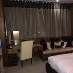 Room 132 Bedroom and Rainfall Shower ensuite on 1st Floor
