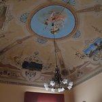 Ceiling in room 5