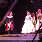 Pirates and princess abord the pirate ship