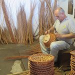 Visit to the wicker factory.