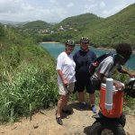 Near Rodney Bay, St. Lucia. Segway tour by LucianStyle Tours.