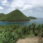 Near Rodney Bay and Pidgeon Island, St. Lucia. Take Lucianstyle excursion from Carnival Fascinat
