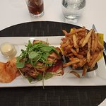 Tuna club was delicious