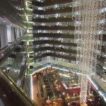 Corridors and atrium