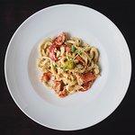 strangozzi aragosta - handmade pasta with lobster