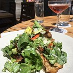 Chicken Salad at Cru on Nantucket