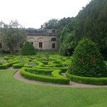 Part of the formal gardens