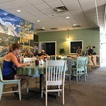 Great beginnings has a great selection of breakfast fare