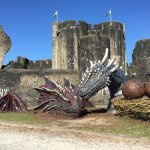 Caerphilly Castle, South Wales Tour