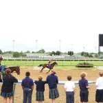 7 & 8:30 am tours will get you the opportunity to see horses working out!