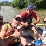 Had a blast floating down the Animas River. Our guide Dillon is to legit to quit!
