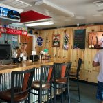 Inside peek, barside... great beer selection and deliciously creative drinks.