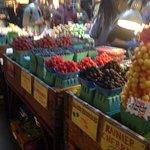 Stunning displays of fruit