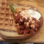 LAMB SPECIAL WAFFLE OF THE DAY