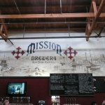 Great beers, nice mural