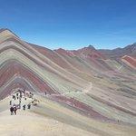 montanha colorida