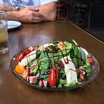 The Italian Salad was absolutely delicious!  The NY Hot Hot Heat pizza is awesome!  We will be b