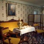 Furnished tea room