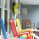 Cheery Front porch
