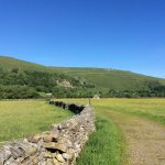 Path to Buckden - look at that blue sky!!