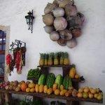 décoration naturelle avec les productions locales