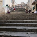 steps leading to Church of St. Ignatius of Loyola