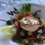 Goat's Cheese and Backn Salad
