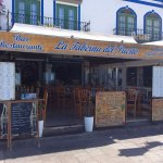 Frontline at La Venecia de Canarias quayside
