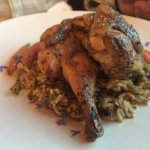 Quail special over rice