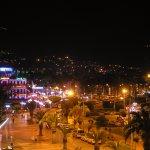 Night scene of Alanya