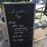Castel Plage is also a beach !