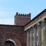 Milano, Colonne di san Lorenzo e Porta Ticinese medievale