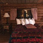 The historical cabins were comfortable, warm and fun to stay in with newly remodeled bathrooms