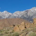 View of Mt Whitney