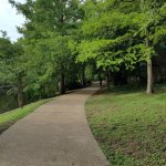 The Riverwalk close to The Oge House