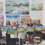 Call (912) 507-7860 to find out more about Tiffani's painting classes!