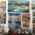 New mixed media and oil paintings, as well as Lifestyle Collection Products for the home.
