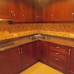 Fully fitted kitchen means it's easy to self cater
