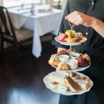 Afternoon Tea offered in the main Pendray dining room