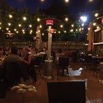 Courtyard Dining Night