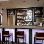 bar area in lobby
