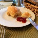Limerock Inn Freshly Baked Croissant