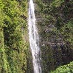 Waterfall at top of Pipiwai Trail