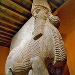 Oriental Institute - From the throne room of King Sargon II at Khorsabad in Assyria