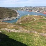 St. John's from above Gibbet Hill...before reaching Signal Hill