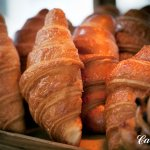 Delicious croissant every morning