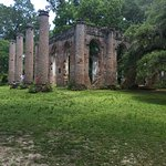 Old Sheldon Church Ruins Photo