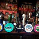 Our 6 beers on tap